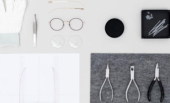 Установка линз в очки