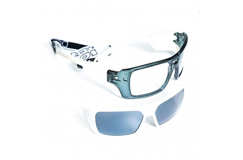 Спортивные очки DEMETZ 2F blanc/cristal