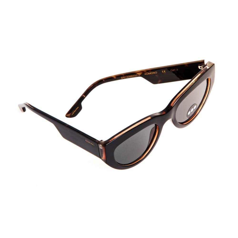 Солнцезащитные очки KOMONO KIM BLACK TORTOISE