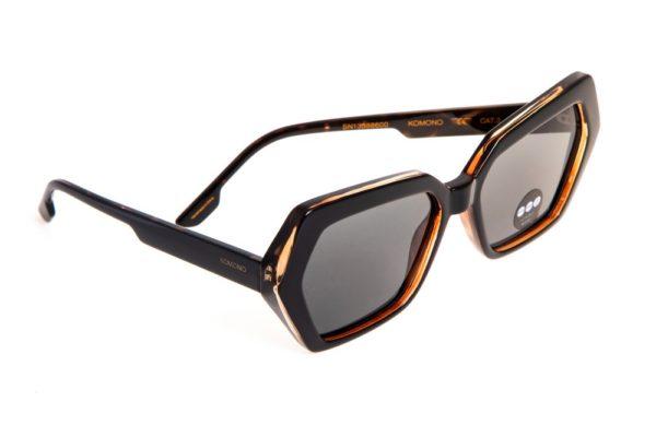 Солнцезащитные очки KOMONO POLY BLACK TORTOISE
